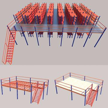 Rivet Shelf Light Duty Racking System Rack Warehouse