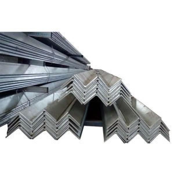 standard galvanized equal steel corner angle iron prices ss400 a36 #3 image